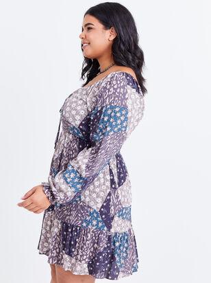 Milana Patchwork Dress - Altar'd State