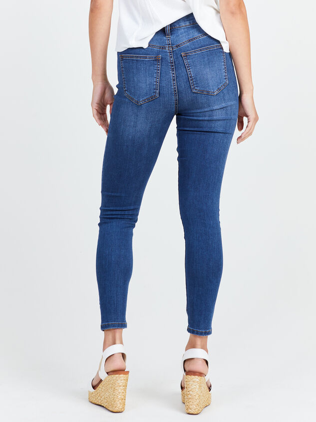Feeling Groovy Skinny Jeans Detail 4 - Altar'd State