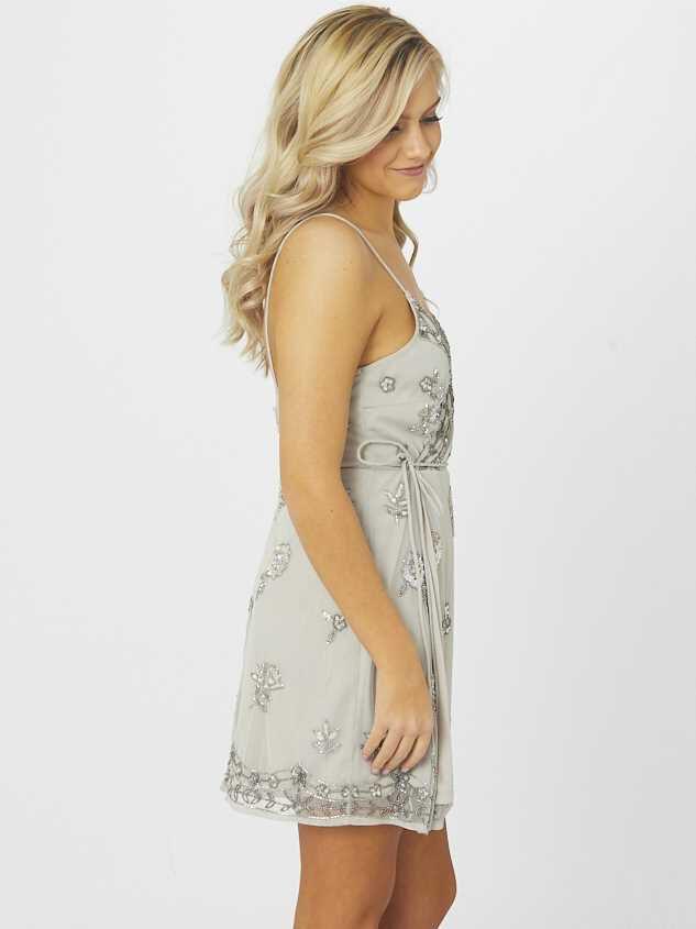 Grace Dress - Grey Detail 2 - Altar'd State