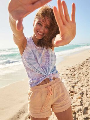 The Radiant Linen Shorts - Altar'd State