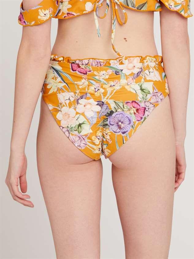 Goddess Garden Bikini Swim Bottoms Detail 3 - Altar'd State