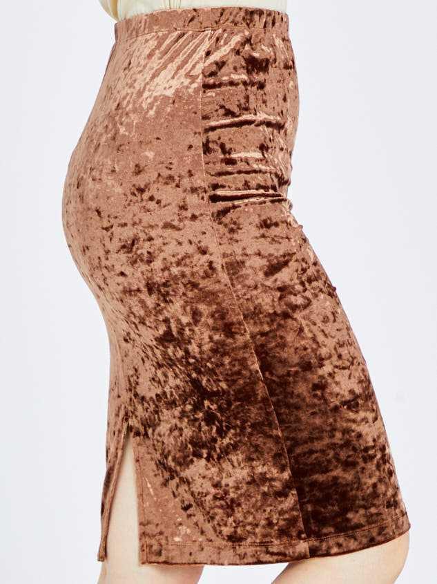 Nadine Midi Skirt Detail 3 - Altar'd State