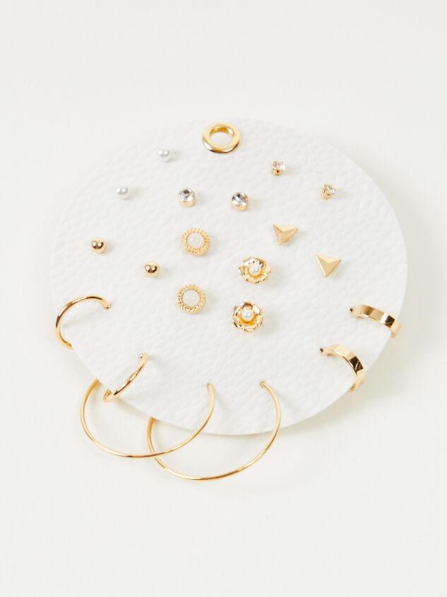 Scarlet Earring Set Detail 2 - Altar'd State