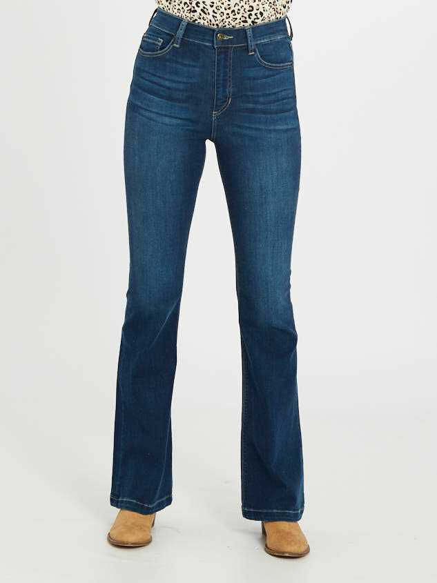 Mason Flare Jeans Detail 2 - Altar'd State