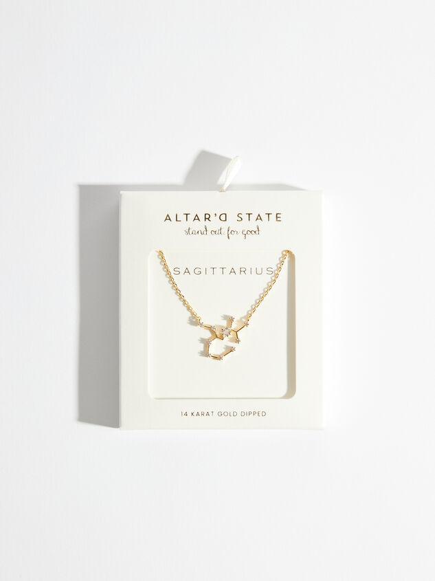 Zodiac Charm Necklace - Sagittarius Detail 3 - Altar'd State