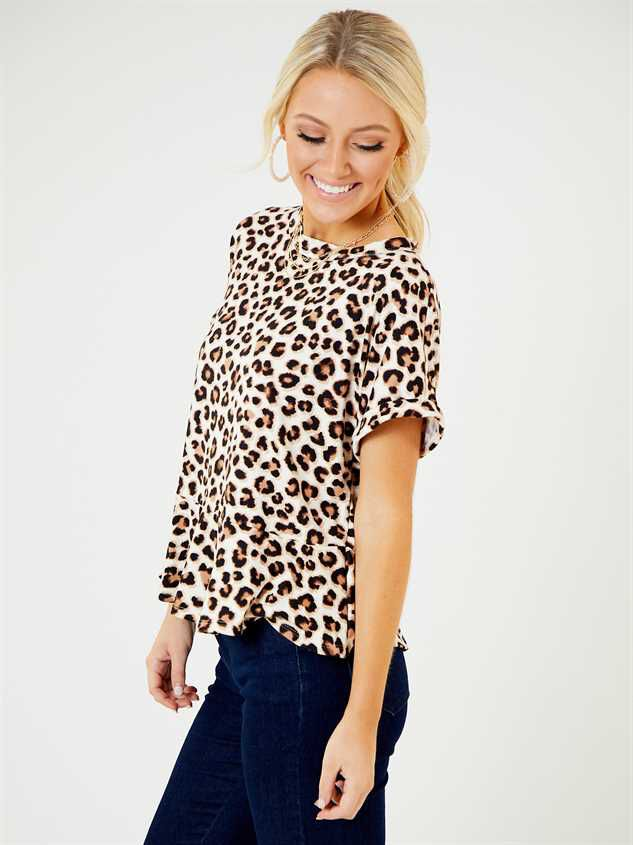 Arica Leopard Top Detail 2 - Altar'd State