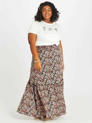 Blossoming Maxi Skirt - Altar'd State