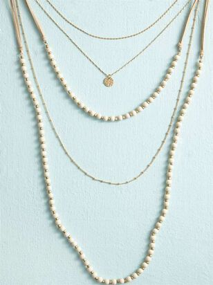 Beaded Bliss Necklace - Altar'd State