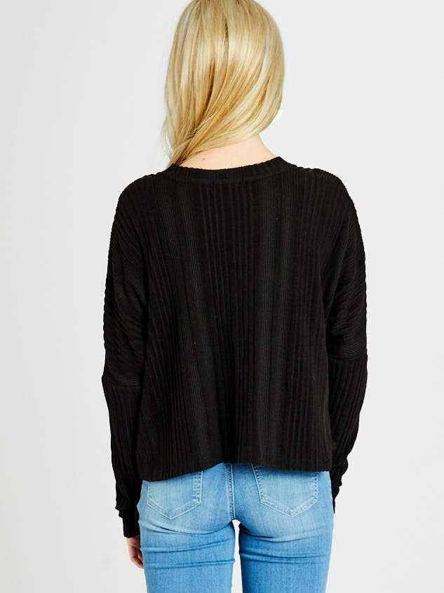 Shelby Cardigan Top Detail 3 - Altar'd State