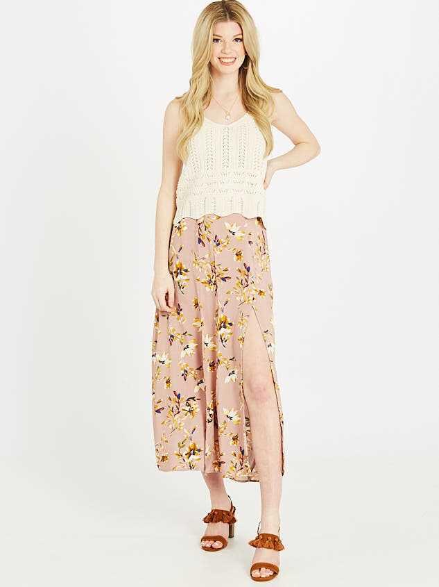 Spring Station Maxi Skirt - Altar'd State