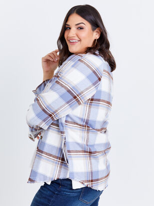 Thea Plaid Shacket - Altar'd State