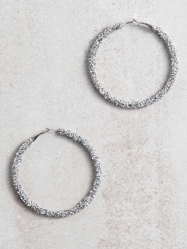 Dianna Hoop Earrings - Altar'd State
