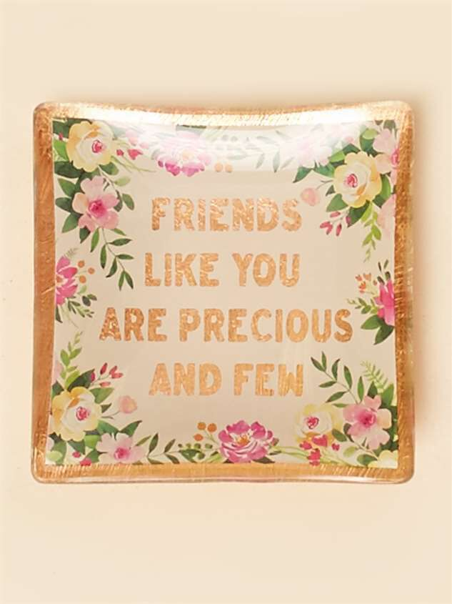 Precious Friends Trinket Dish - Altar'd State