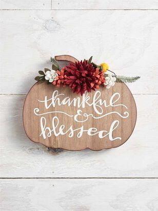 Thankful and Blessed Sign - Altar'd State