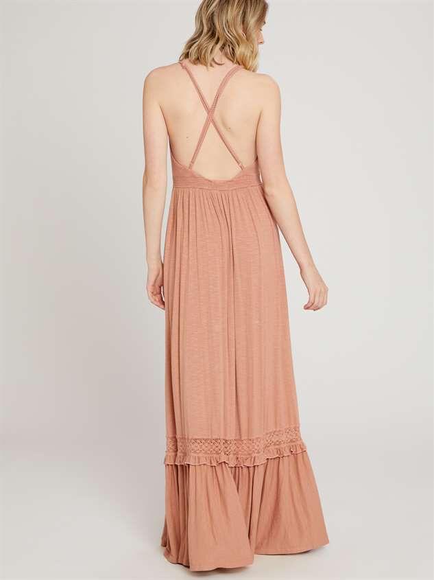 Audra Maxi Dress Detail 3 - Altar'd State