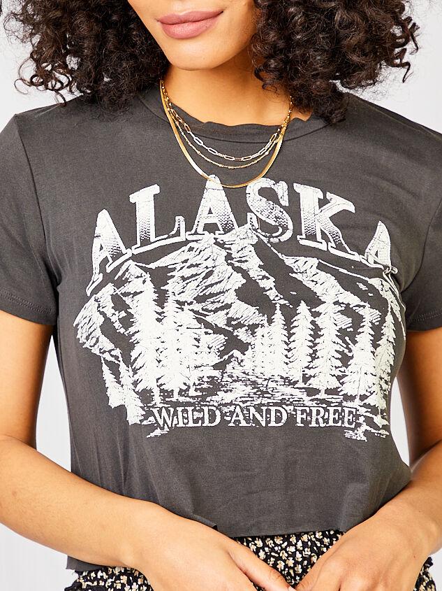 Alaska Cropped Tee Detail 4 - Altar'd State