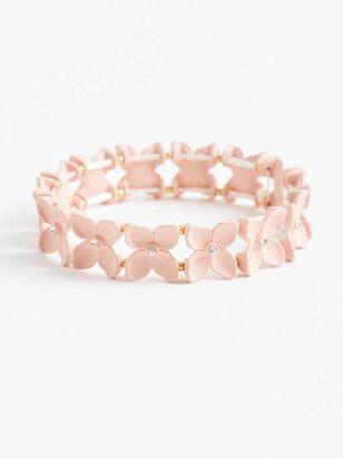 Blushing Blossom Bracelet - Altar'd State