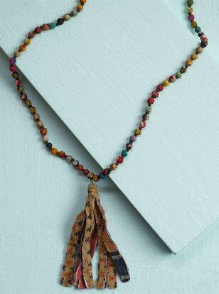 Fabia Tassel Necklace - Altar'd State