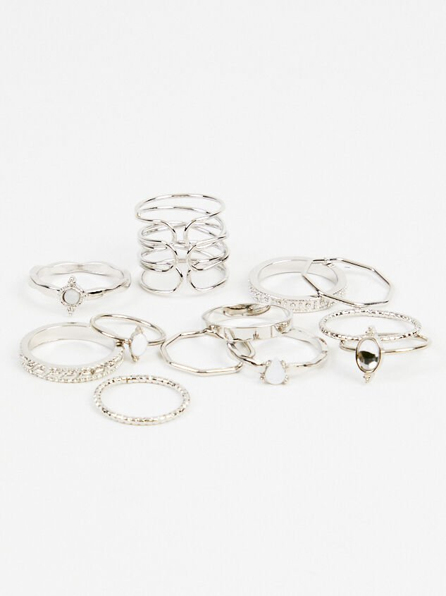 Zoey Ring Set - Altar'd State