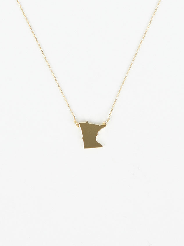 Dainty Minnesota Necklace Detail 2 - Altar'd State