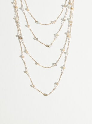 Christine Necklace - Ivory - Altar'd State