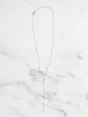 Pearl Stations Necklace - Altar'd State