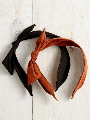 Suede Knot Headband - 2 pack - Altar'd State