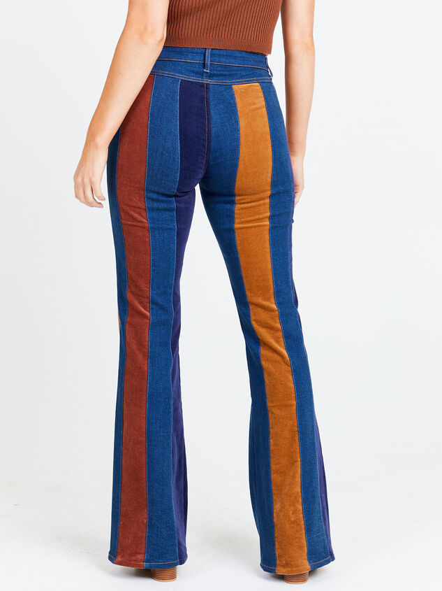 Suede Flare Jeans Detail 2 - Altar'd State