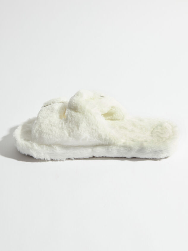 Double Buckle Fur Slides Detail 3 - Altar'd State