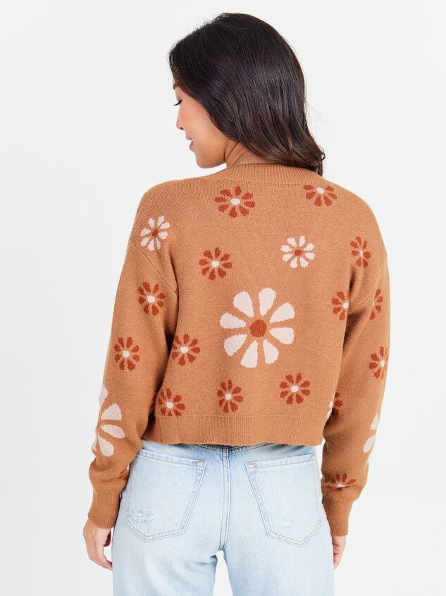 Flower Power Sweater Detail 3 - Altar'd State