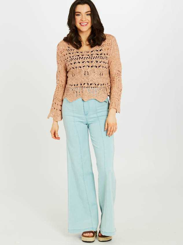 Dionne Flare Pants - Altar'd State