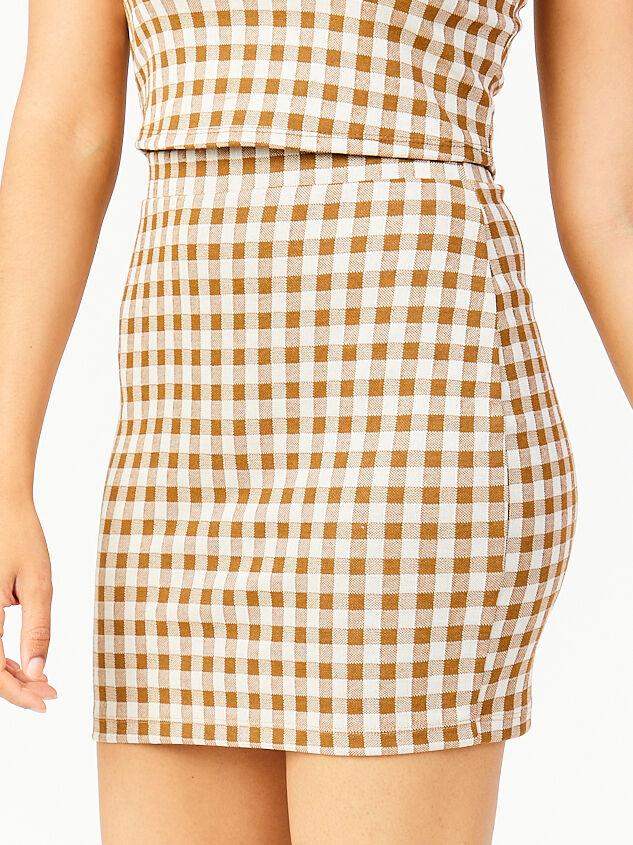 Get a Clue Skirt Detail 4 - Altar'd State