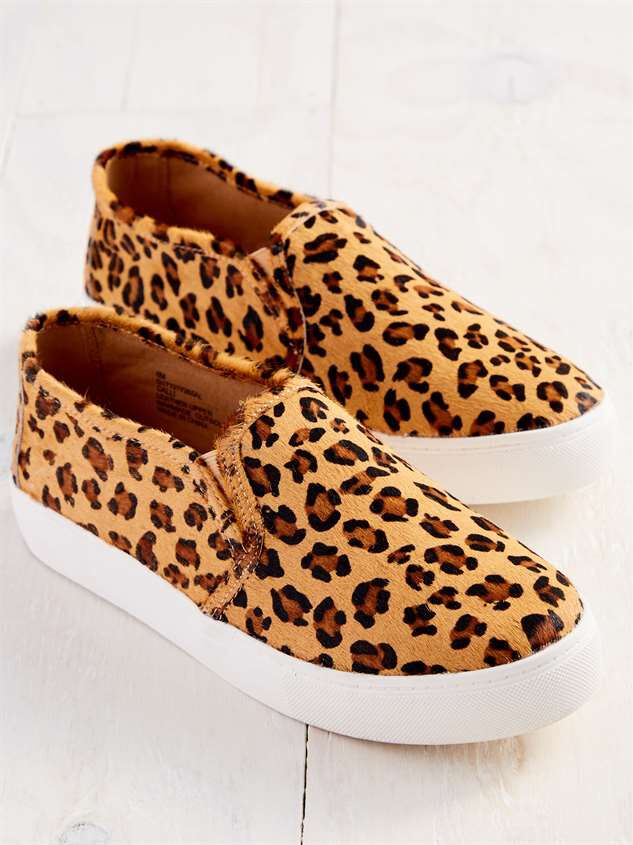 Calli Leopard Sneakers Detail 4 - Altar'd State