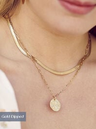 Coin Charm Necklace - Altar'd State