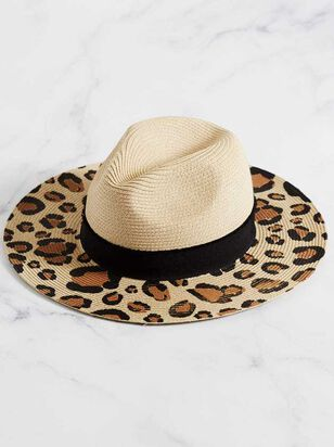 Seeing Spots Panama Hat - Altar'd State
