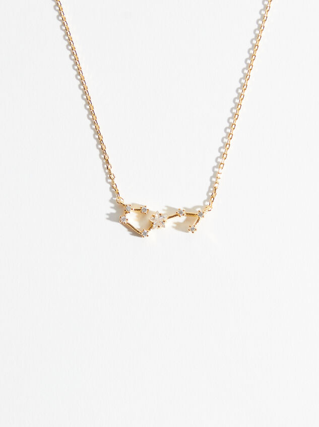 Zodiac Charm Necklace - Scorpio - Altar'd State