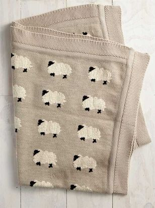 Tullabee Sweet Sheep Blanket - Altar'd State
