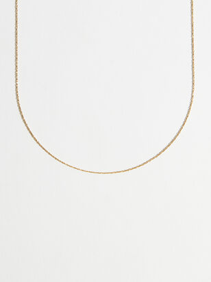 Charm'd 18K Gold 20 Inch Charm Necklace - Altar'd State