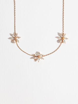Crystal Flower Choker - Altar'd State