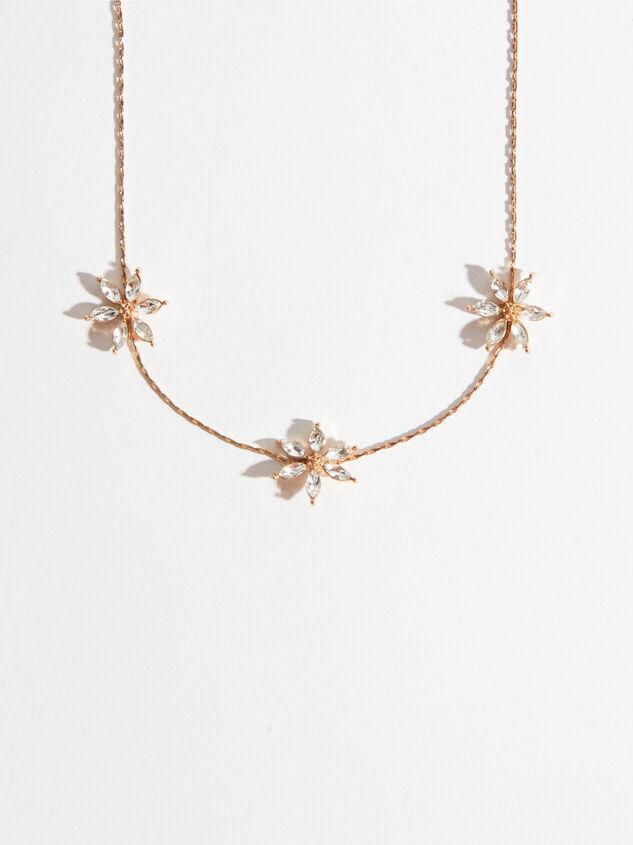 Crystal Flower Choker Detail 2 - Altar'd State
