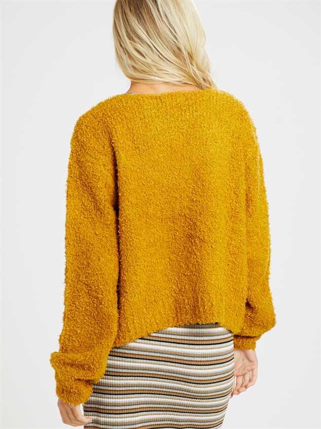 Rhett Cardigan Sweater Detail 3 - Altar'd State