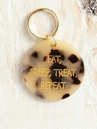 Bear and Ollie's Eat, Sleep Dog Tag - Altar'd State