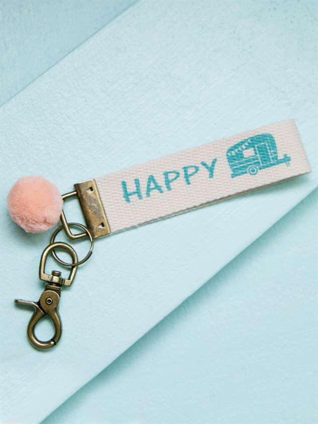 Happy Camper Keychain - Altar'd State