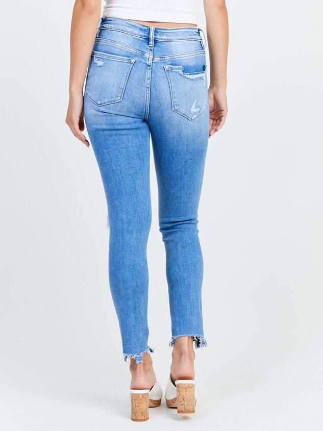 Kaylie Skinny Jeans Detail 4 - Altar'd State
