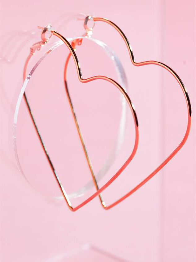 FULL HEART HOOPS Detail 3 - Altar'd State
