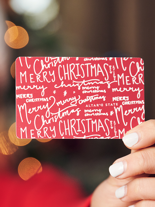 Christmas Classic Gift Card